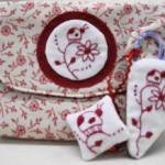 little ladybug sewing pouch